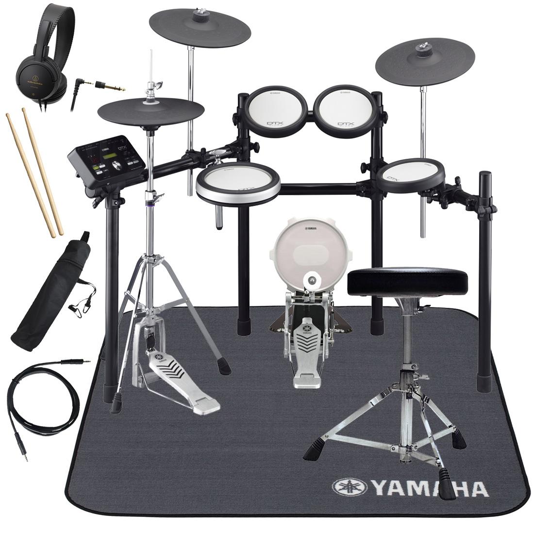 【タイムセール:28日12時まで】YAMAHA 電子ドラム DTX582KFS ドラムマットDM1314付き スターターパック【YRK】