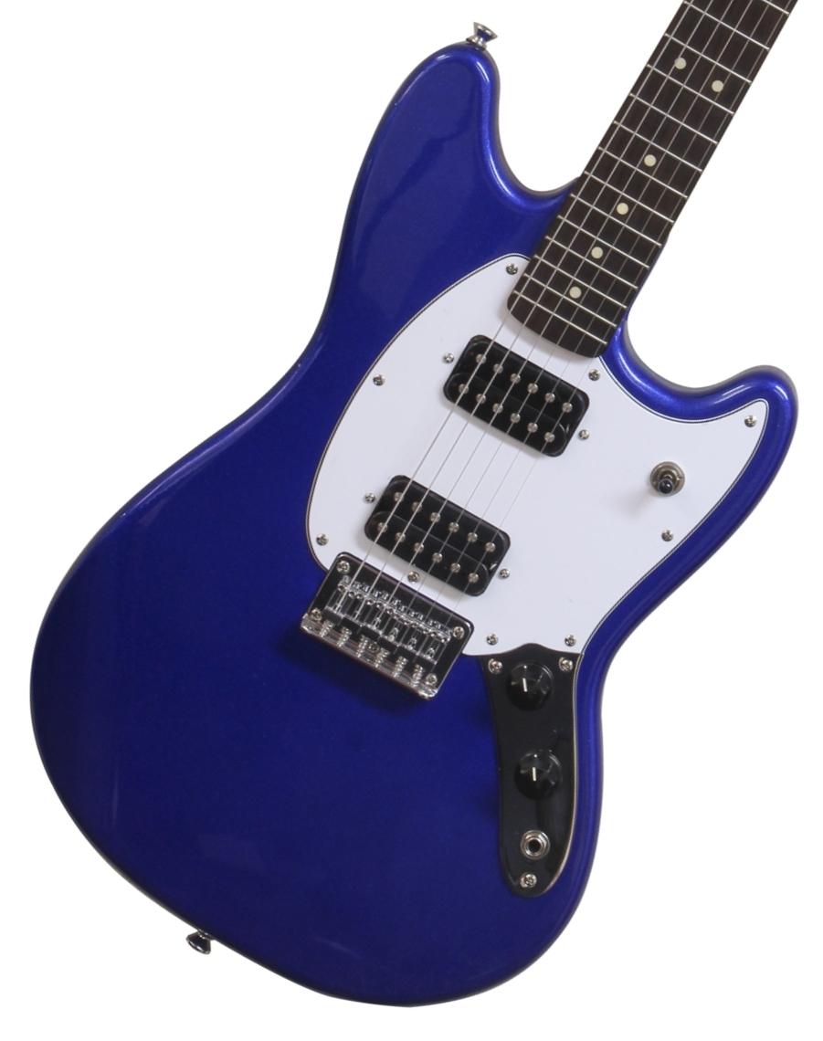 【タイムセール:7月2日12時まで】Squier by Fender / Bullet Mustang HH Imperial Blue スクワイヤ