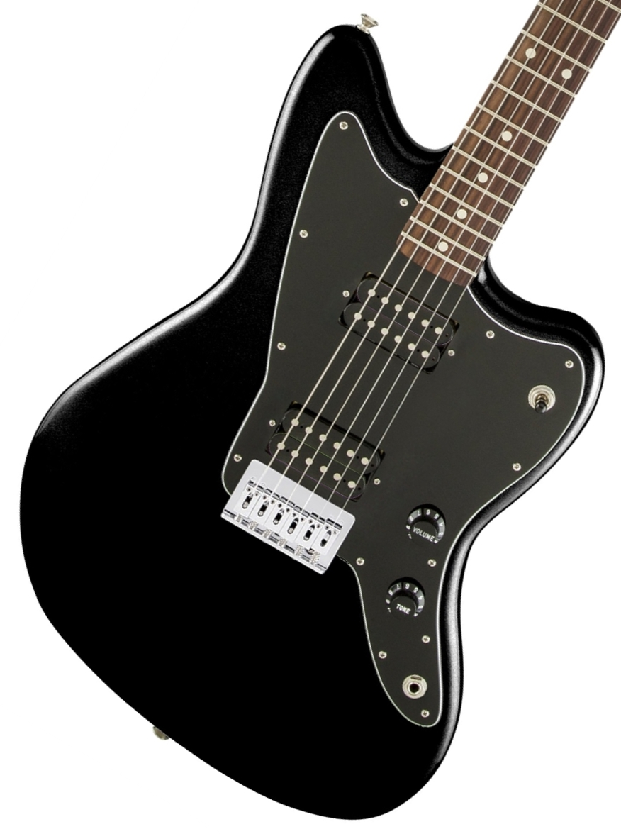 Squier by Fender / AFFINITY SERIES JAZZMASTER HH Black スクワイヤ