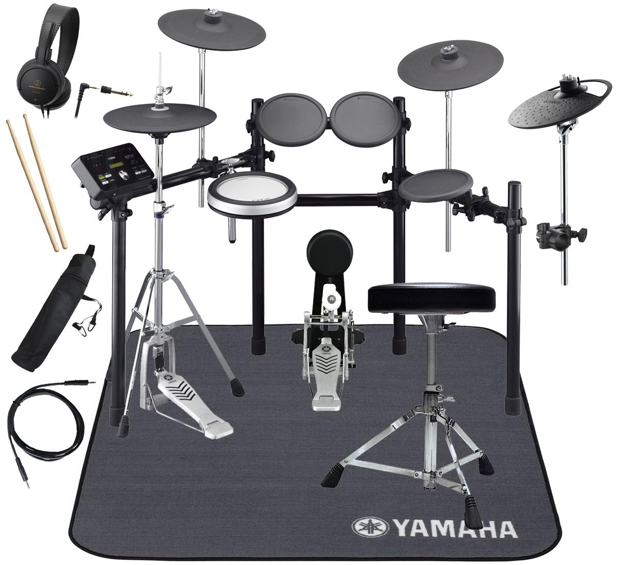 YAMAHA 電子ドラム DTX532KFS 3シンバル ドラムマットDM1314 スターターパック【YRK】