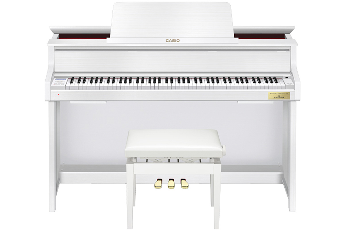 CASIO カシオ / CELVIANO Grand Hybrid GP-300WE セルヴィアーノ【全国組立設置無料】【安心のメーカー3年保証】【代引き不可】 電子ピアノ【PTNB】