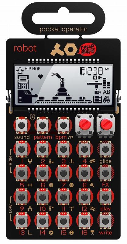 TEENAGE ENGINEERING ティーンエイジ・エンジニアリング / POCKET OPERATOR PO-28 robot ポケットシンセサイザー