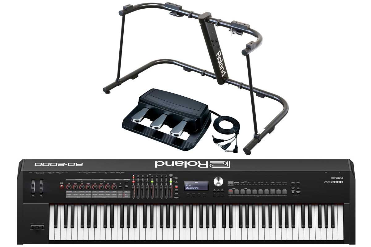 Roland ローランド / RD-2000 【スタンド&ペダルセット!】Stage Piano ステージ・ピアノ【YRK】