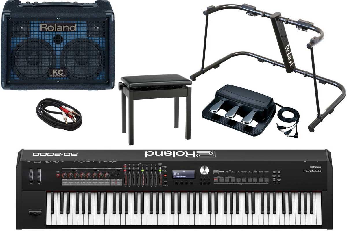 Roland ローランド / RD-2000 【フルオプションセット!】Stage Piano ステージ・ピアノ【YRK】【PTNB】