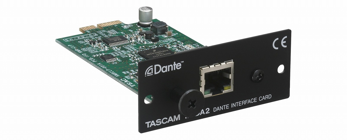 TASCAM タスカム / IF-DA2 2イン/2アウトDanteインターフェースカード【お取り寄せ商品】