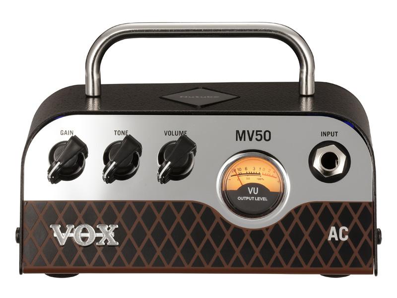 VOX / MV50 AC ボックス ギターアンプ Nutube搭載 ヘッドアンプ【YRK】【お取り寄せ商品】