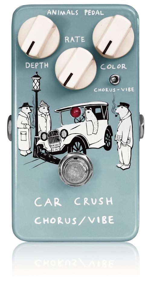 Animals Pedal / Car Crush Chorus/Vibe [コーラス/ヴィブラート] アニマルズペダル【お取り寄せ商品】