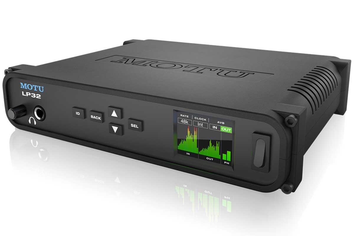 MOTU マークオブザユニコーン / LP32 ADATオプチカル/USB/AVB-TSNオーディオインターフェイス【お取り寄せ商品】