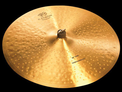 Zildjian / K.Zildjian / CONSTANTINOPLE Thin Ride Overhammered 22インチ (56cm) ジルジャン ライド シンバル【YRK】