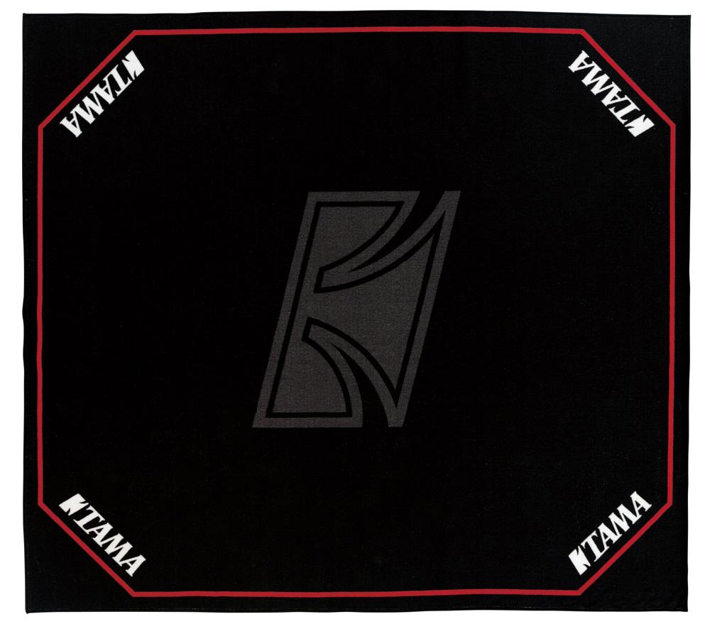 TAMA ドラムマット TDR-TL タマ ドラムセッティングカーペット ブラック w/ TAMAロゴ【お取り寄せ商品】