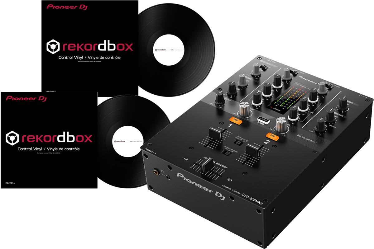 Pioneer パイオニア / DJM-250 MK2 【DVSセット!】 DJセット【PNG】