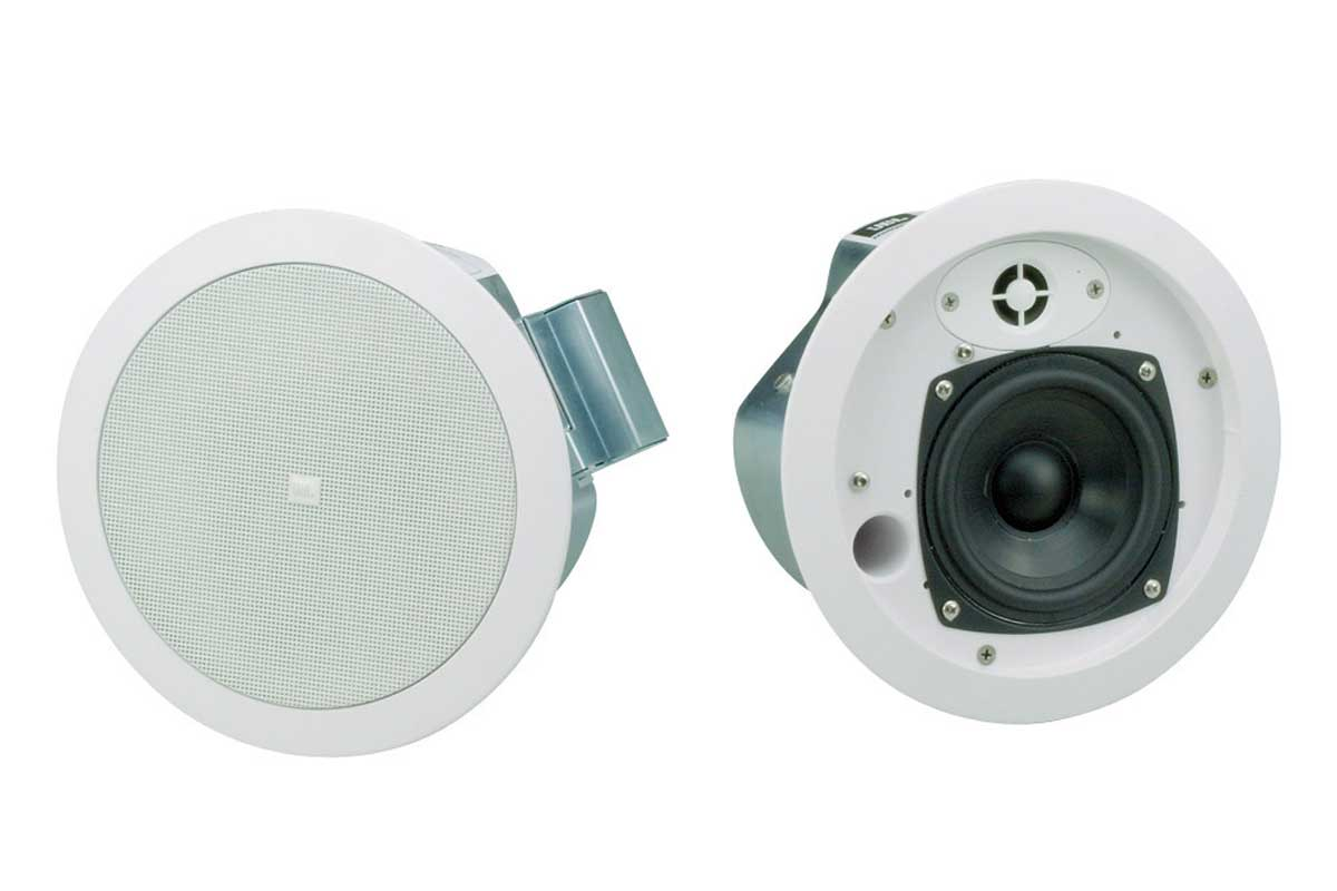 JBL ジェービーエル / Control 24C Micro (天井埋込用2-Wayフルレンジ・スピーカー) 2本1組 ロー・インピーダンス仕様【国内正規品2年保証】【お取り寄せ商品】