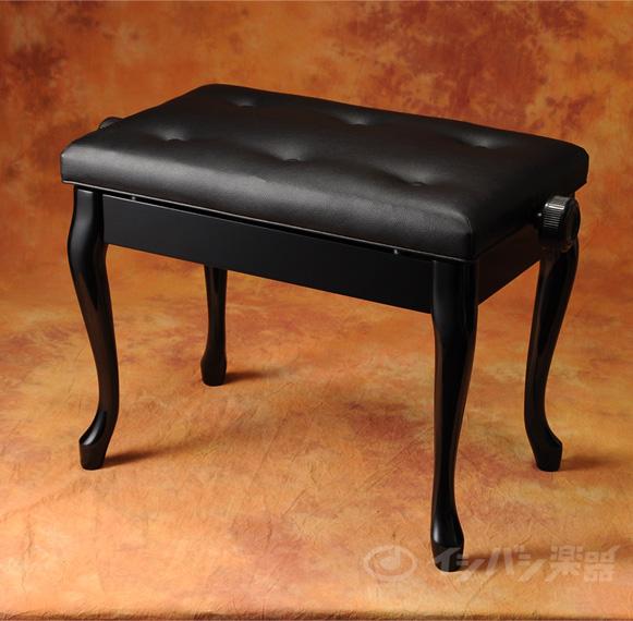 ITOMASA / ピアノ椅子 AES 黒【お取り寄せ商品】
