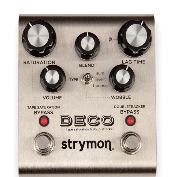 安値 公式ショップ Strymon DECO テープエコー