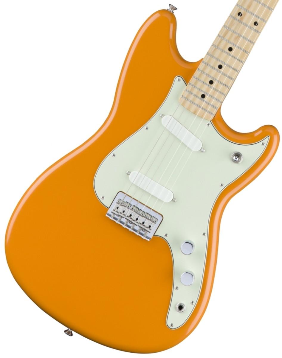 Fender / Duo Sonic Maple Capri Orange フェンダー【お取り寄せ商品】《カスタムショップのお手入れ用品を進呈/+671038200》