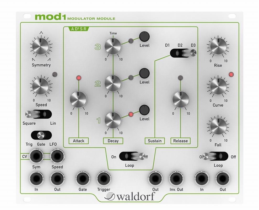 Waldolf ウォルドルフ / MOD1 ユーロラック・アナログモジュレーター・モジュール【お取り寄せ商品】