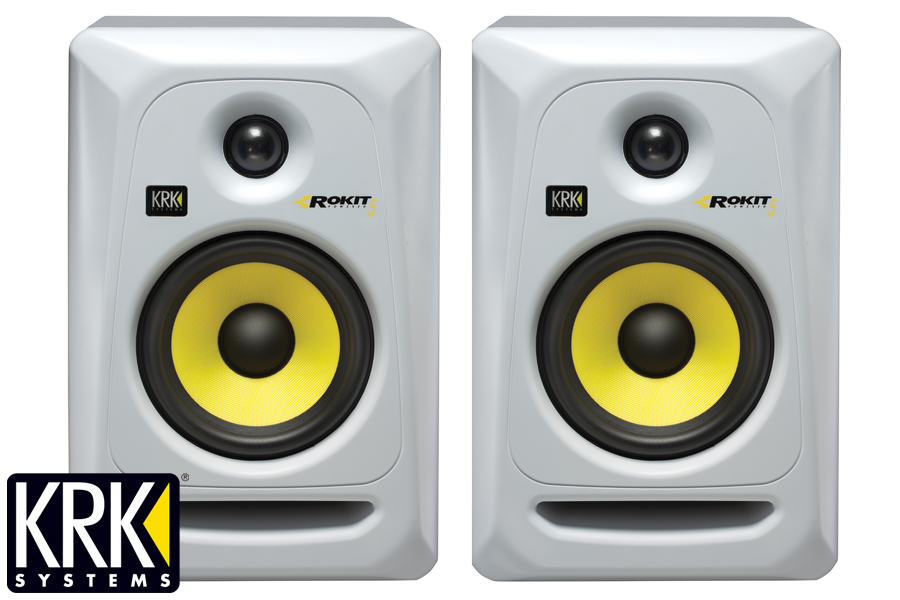 KRK ケーアールケー/ RP 5 G3 White version モニタースピーカー(RP5 G3)(RP5-G3)【1ペア】【お取り寄せ商品】