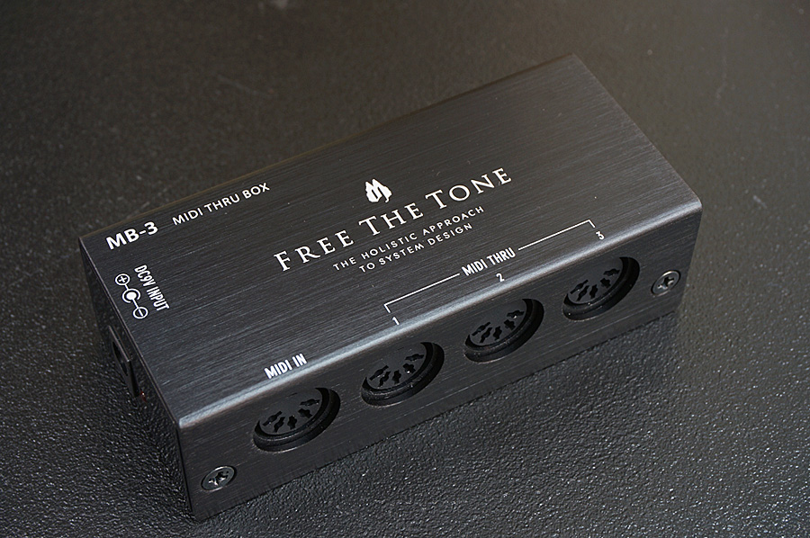 FREE THE TONE / MB-3 MIDI THRU BOX