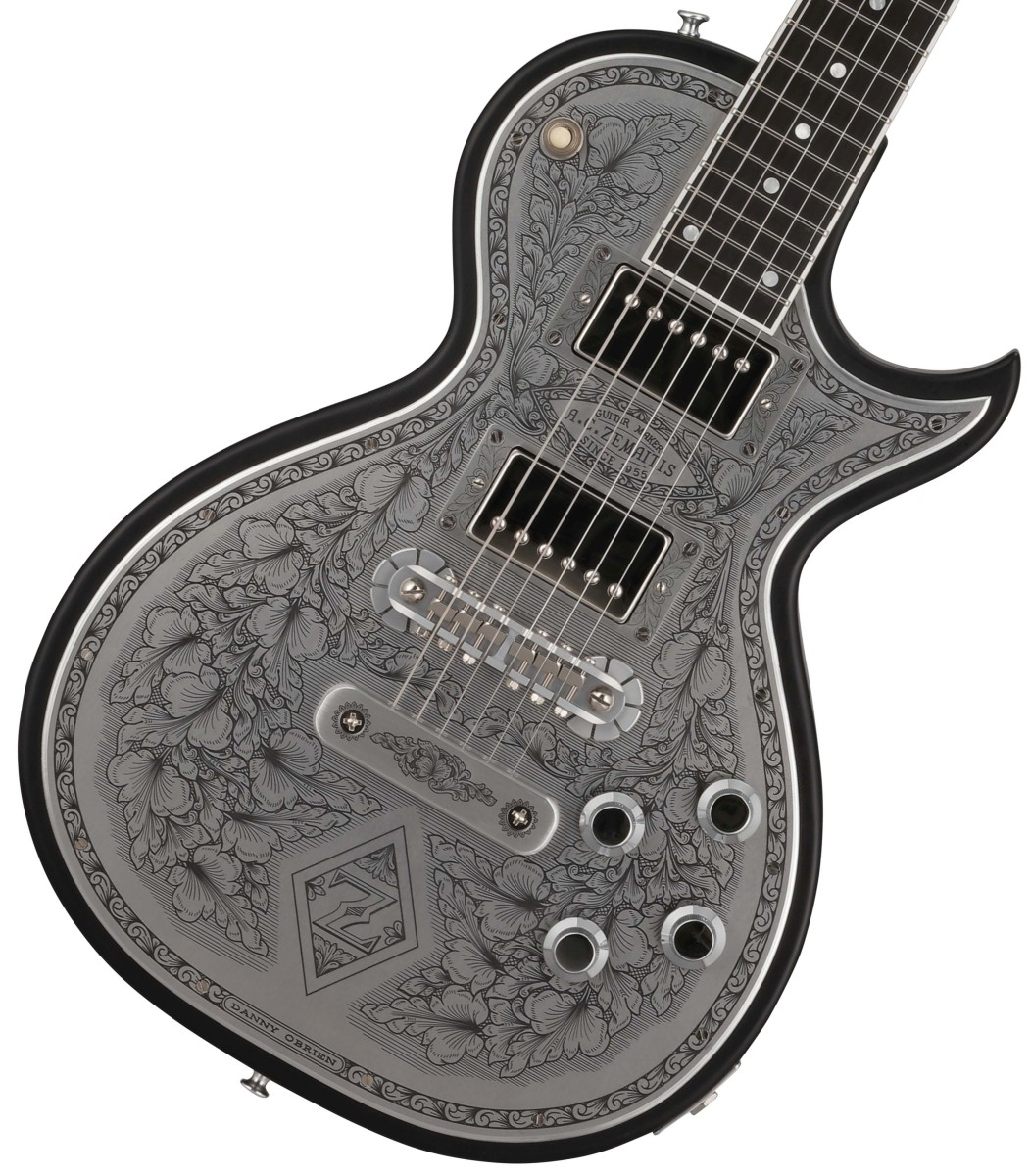 ZEMAITIS / Custom Shop Metal Front Series CS24MF DIAMOND & Z Black ゼマイティス【お取り寄せ商品】
