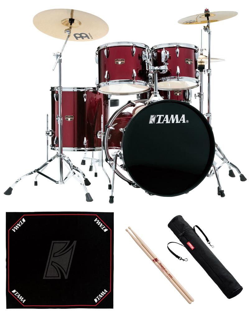 TAMA IP52H6HC-VTR ドラムセット 22BD スタンダードサイズ 純正ドラムマットセット