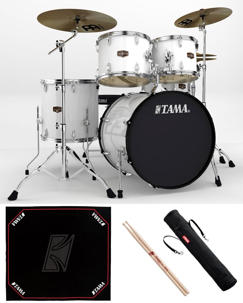 TAMA IP52H6HC-SGW ドラムセット 22BD スタンダードサイズ 純正ドラムマットセット