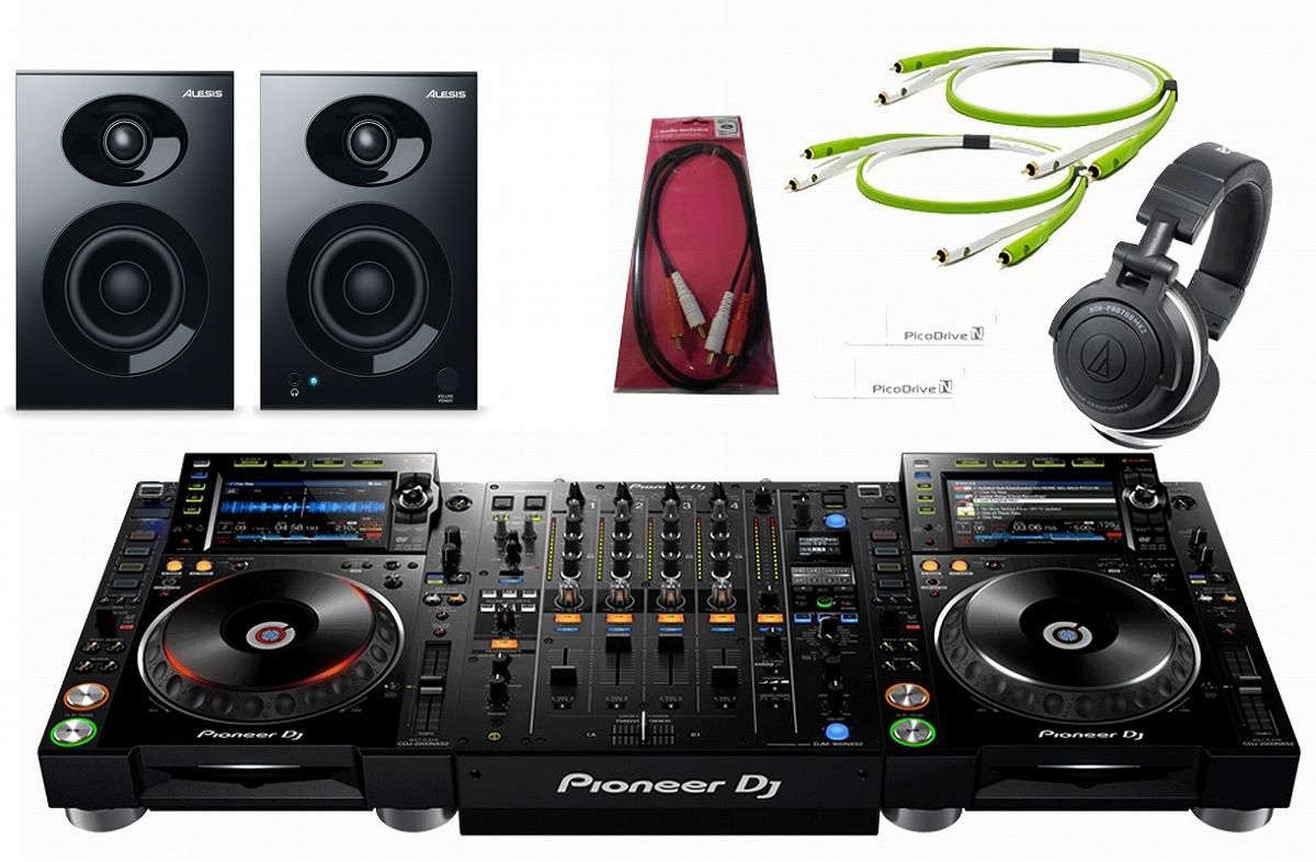 Pioneer パイオニア / CDJ-2000NXS2 × DJM-900NXS2 コンプリート DJセット【お取り寄せ商品】