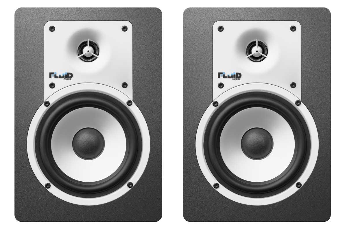 Fluid Audio フルイドオーディオ / C5 ブラック モニタースピーカー【YRK】