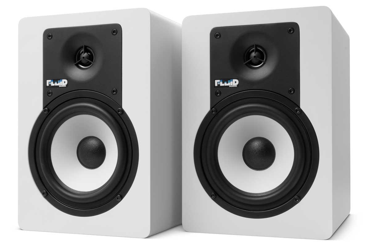 Fluid Audio フルイドオーディオ / C5W ホワイト モニタースピーカー【YRK】