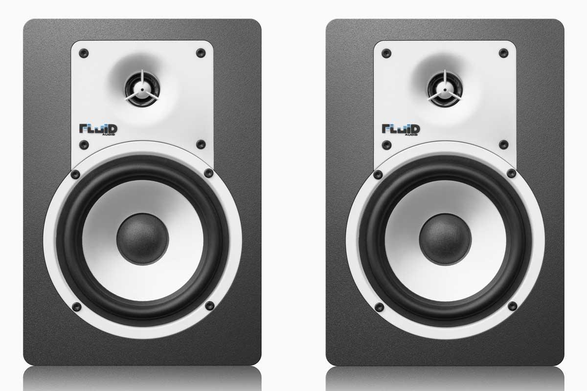 Fluid Audio フルイドオーディオ / C5BT ブラック モニタースピーカー【YRK】
