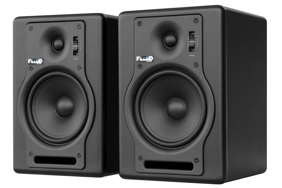 Fluid Audio フルイドオーディオ / F5 ブラック モニタースピーカー【YRK】