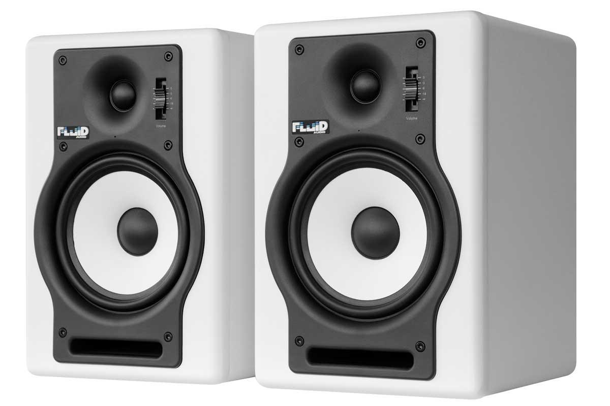 Fluid Audio フルイドオーディオ / F5W ホワイト モニタースピーカー【YRK】
