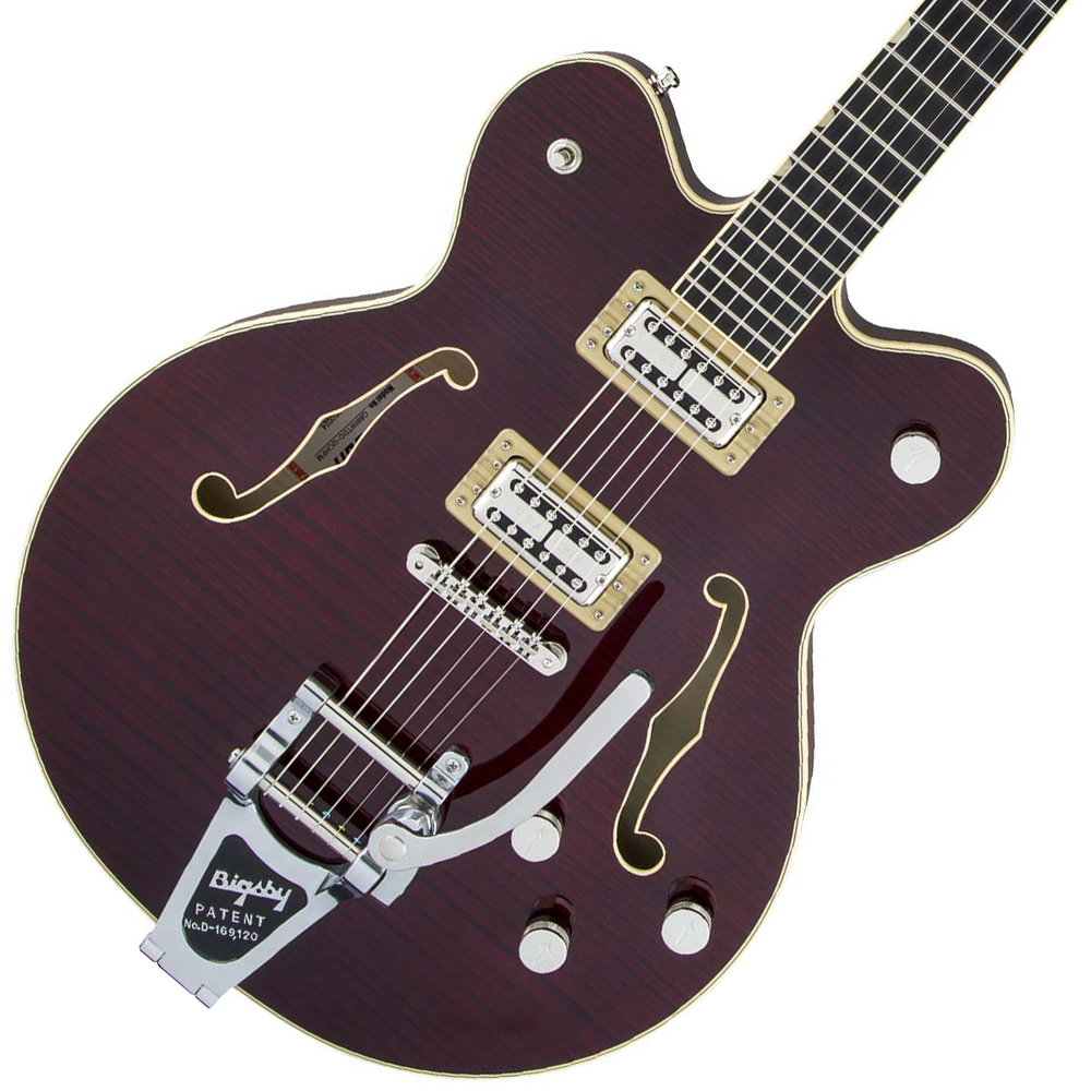 Gretsch / Players Edition G6609TFM Broadkaster Center Block Double-Cut Dark Cherry Stain グレッチ