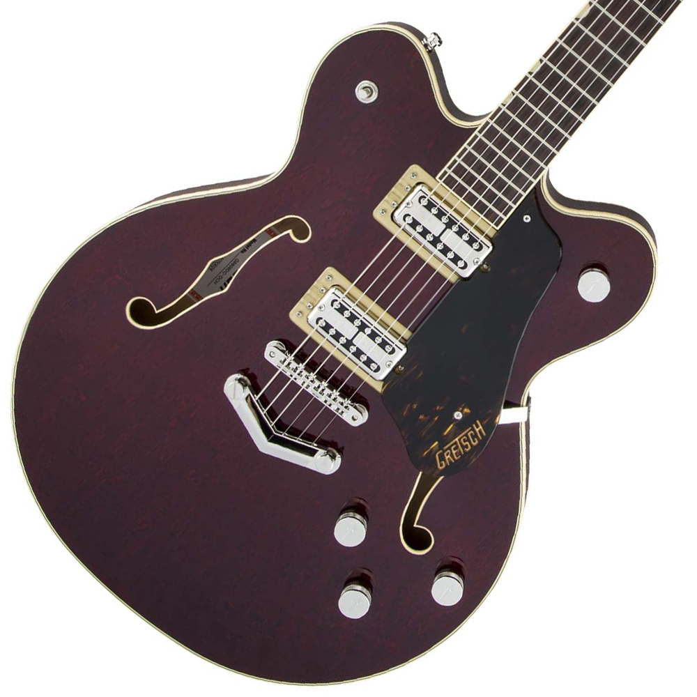 Gretsch / Players Edition G6609 Broadkaster Center Block Double-Cut Dark Cherry Stain グレッチ