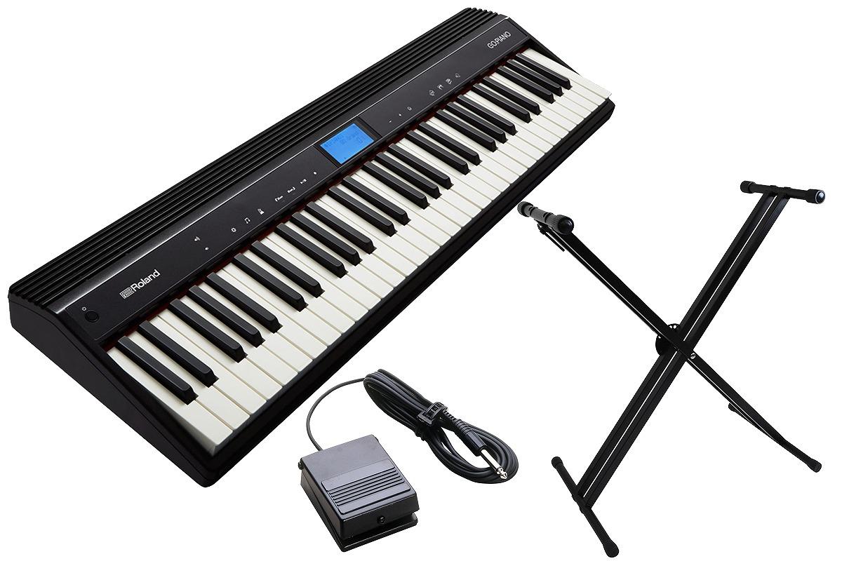 Roland ローランド / GO-61P GO:PIANO 【スタンドセット!】エントリー・キーボード【YRK】
