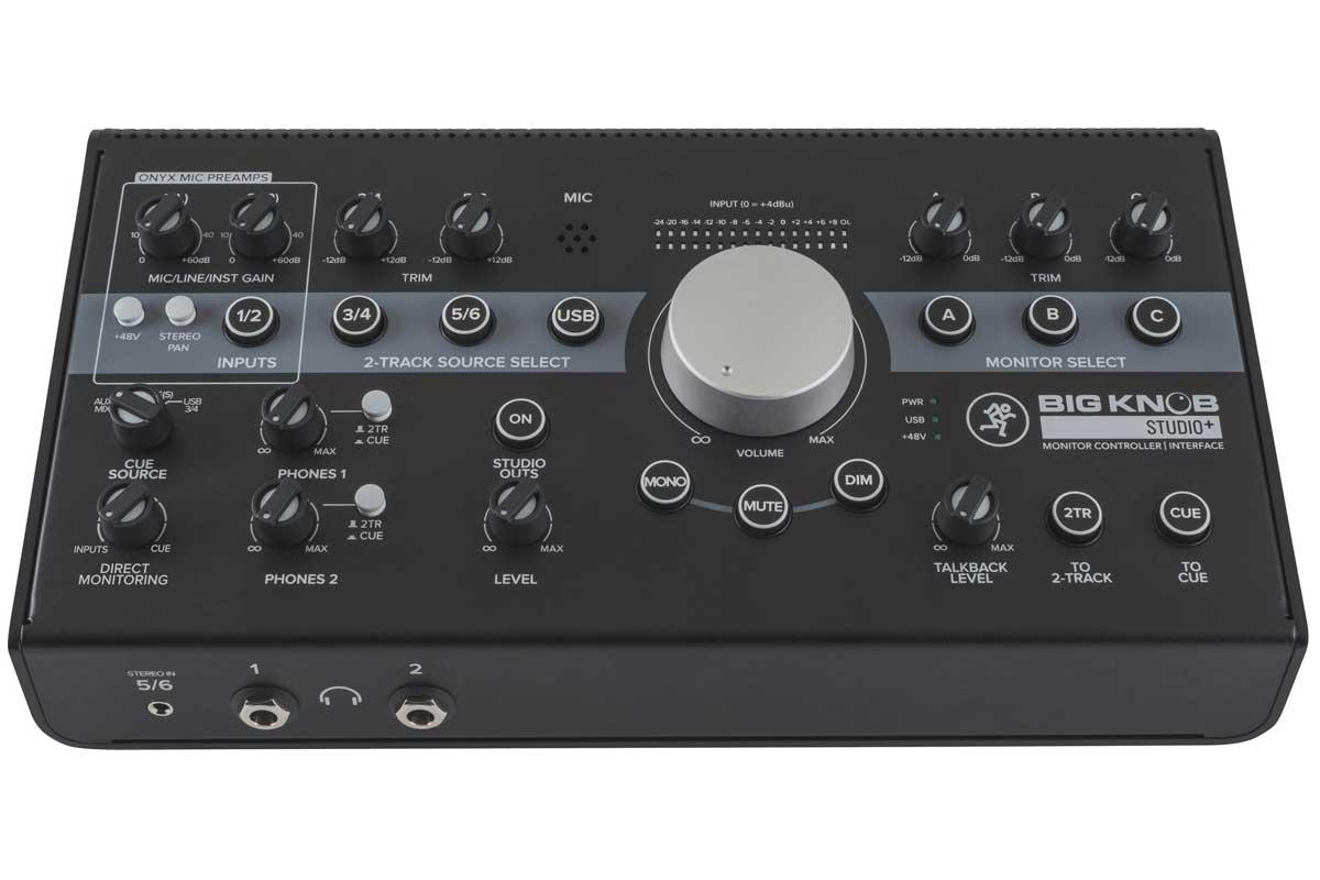 MACKIE マッキー / Big Knob Studio+ (モニターコントローラー&インターフェース)【お取り寄せ商品】