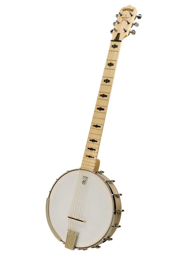 DEERING / G6S/GTPU Goodtime 6-String BANJO 【ピックアップ搭載!6弦バンジョー】 ディーリング バンジョー 【お取り寄せ商品】