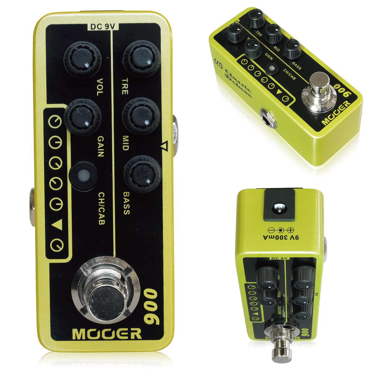 MOOER / MICRO PREAMP 006 ムーアー プリアンプ 【お取り寄せ商品】