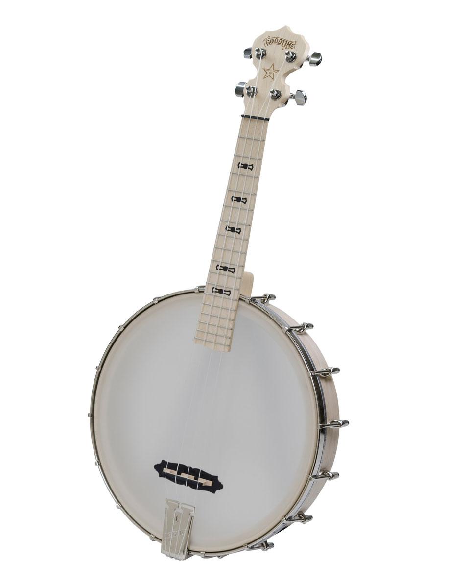 DEERING / TUK Goodtime Banjo Tenor Scale Ukulele 【バンジョーウクレレ】 ディーリング バンジョー テナー ウクレレ 【お取り寄せ商品】