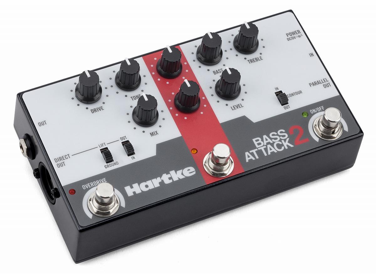 Hartke / BASS ATTACK 2 ハートキー ベース プリアンプ DIボックス 【お取り寄せ商品】