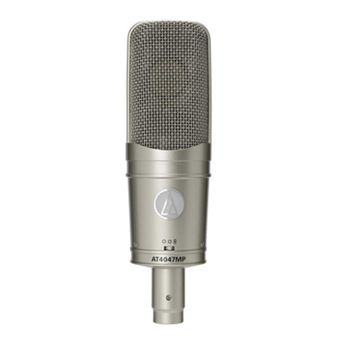 audio-technica オーディオテクニカ / AT4047MP マルチパターン・コンデンサー・サイドアドレスマイクロホン (ショックマウント:AT8449a/SV付属)