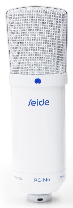 SEIDE ザイド / PC-ME WHITE コンデンサーマイク (ホワイト)