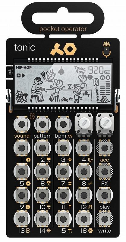 TEENAGE ENGINEERING ティーンエイジエンジニアリング / POCKET OPERATOR PO-32 TONIC ポケットシンセサイザー