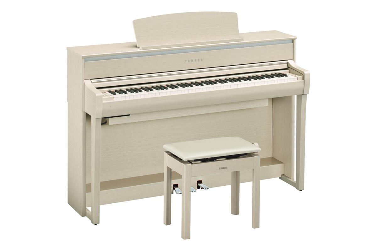 YAMAHA ヤマハ / CLP-675WA ホワイトアッシュ調仕上げ Clavinova クラビノーバ (CLP675)電子ピアノ【代引き不可】【全国組立設置無料】【YRK】【お手入れセットプレゼント:set78332】《レッスンバッグセットプレゼント:411138700》