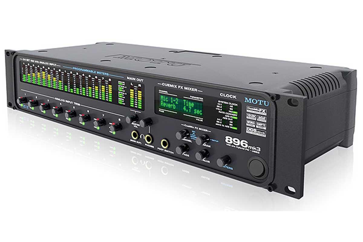 MOTU マークオブザユニコーン / 896mk3 Hybrid (FireWire・USB2.0 28イン/32アウト オーディオインターフェイス)【お取り寄せ商品】