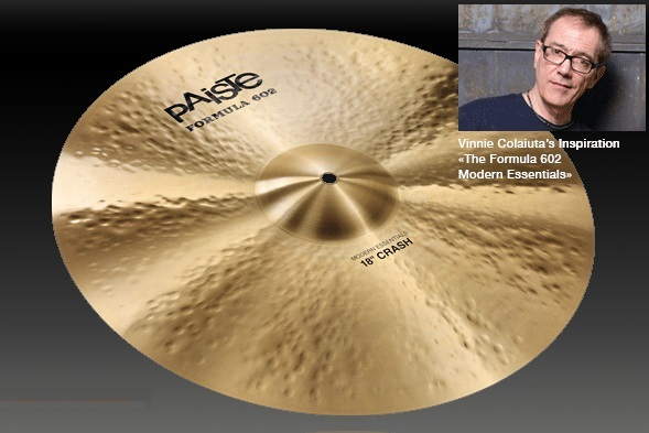 PAiSTe / Formula 602 Modern Essentials Crash 18インチ クラッシュシンバル
