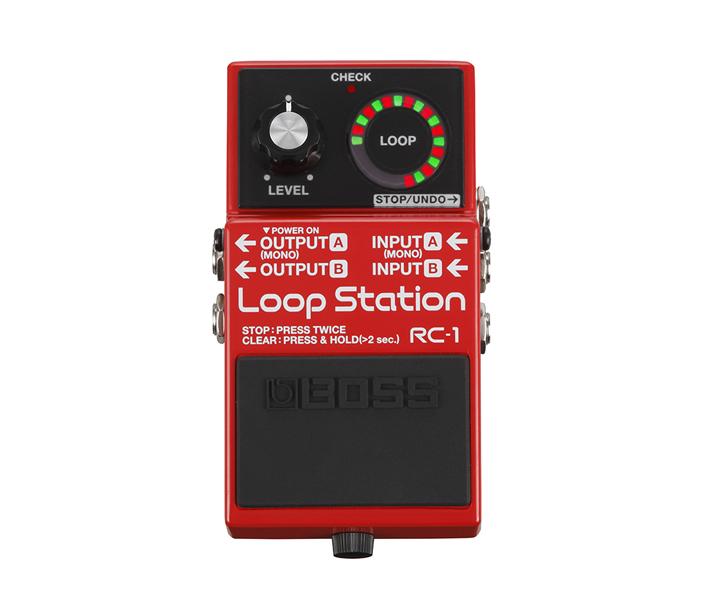 【ご購入特典つき!】【在庫有り】 BOSS / RC-1 Loop Station 【ルーパー】 ボス ループステーション RC1 【YRK】《/80-set12101/+811182200》