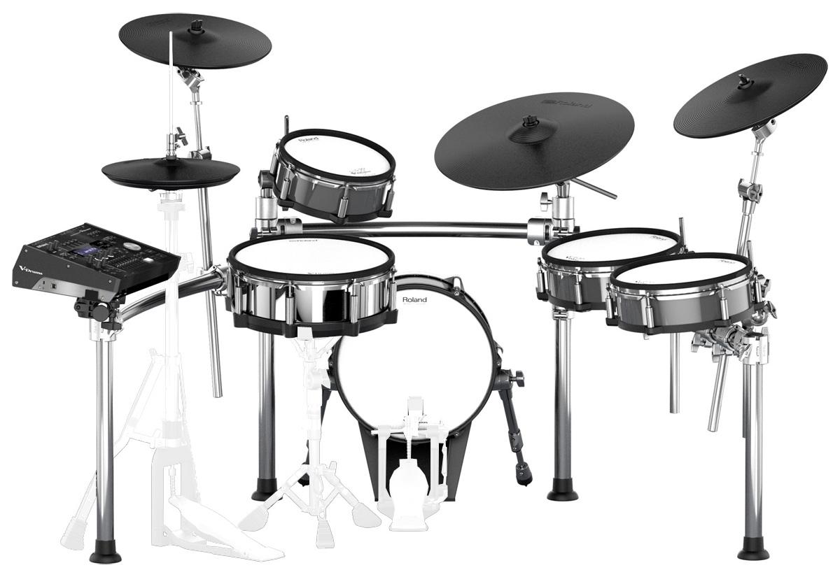 【Rolandキャッシュバック10000円対象】Roland Drum System TD-50KV KD-140-BCキックパッド MDS-50KVドラムスタンド セット【YRK】