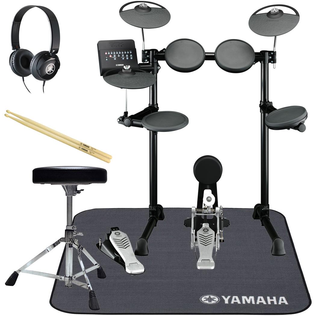 YAMAHA 電子ドラム DTX450KS オール・ヤマハ 純正スターターパック マットセット【YRK】