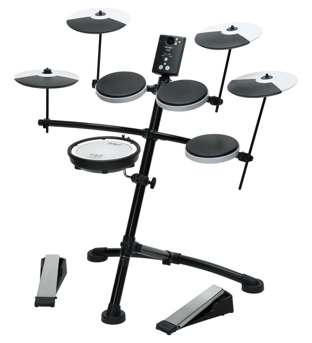 【Rolandキャッシュバック3000円対象】Roland V-Drums TD-1KV OP-TD1C追加 3シンバルセット【YRK】