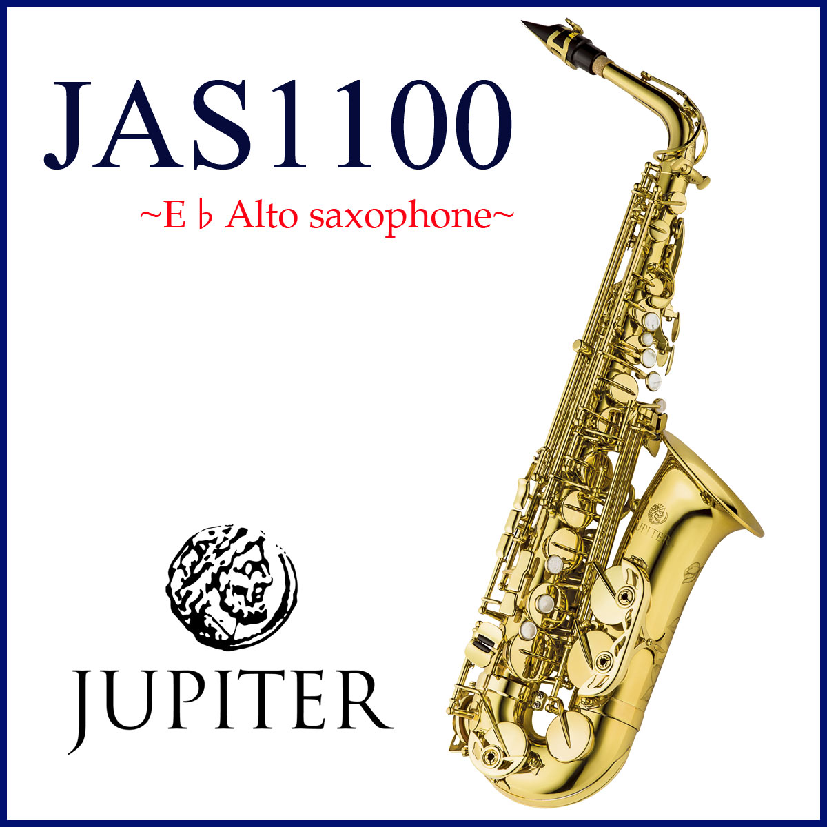 JUPITER / JAS-1100 ジュピター アルトサックス ラッカー仕上げ 《お取り寄せ》, worldtime26 a436330f